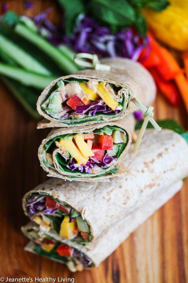 Rainbow-Vegetable-Wraps-with-Peanut-Sauce-5